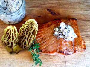 mushroom butter - morels-sm