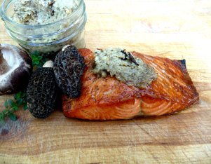 mushroom butter - morel - updated 2015