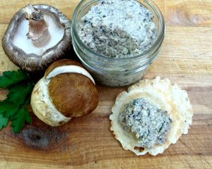 mushroom spread - porcini - updated 2015